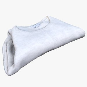 sweater pullover 3D model