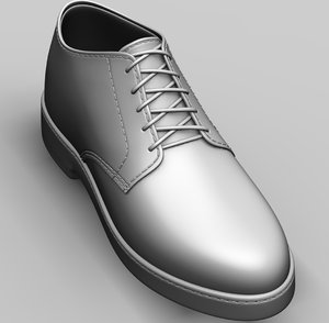 realistic shoes 3D model