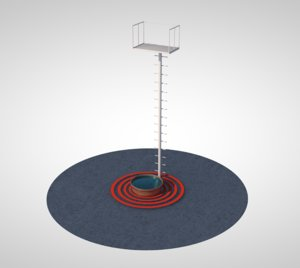 3D ladder pool