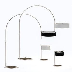 3D lamp arcus model