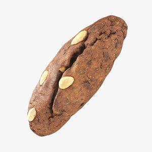 hand fruit loaf 3D model