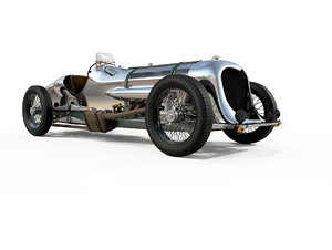 napier-railton race car railton 3D model
