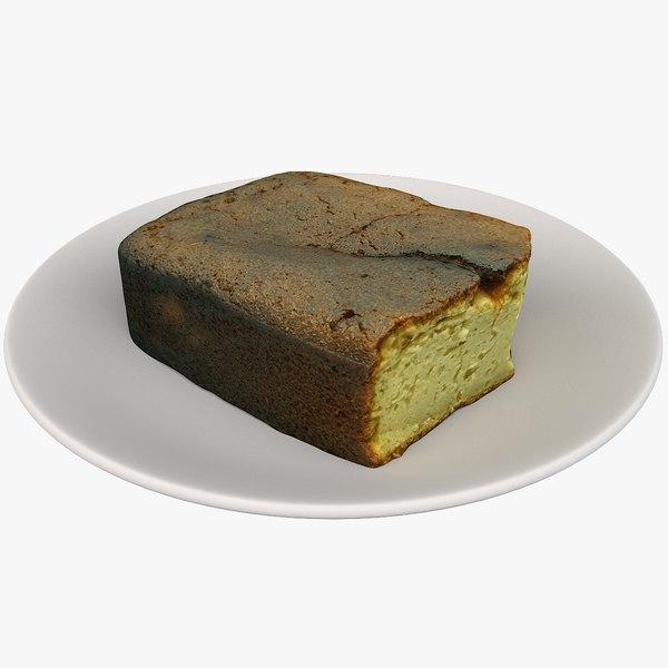 scan cake 3D model
