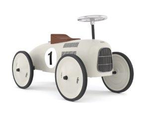 3D model retro push car