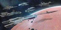 Spaceship Basemesh Kitbash - 100 Models Pack