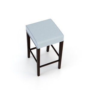 3D architectural visualization bar stool