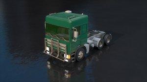 3D leyland motors truck body