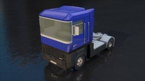 renault magnum truck 3D model