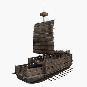 3D ship period warring