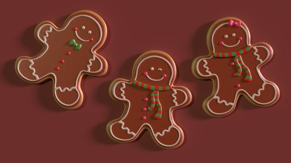 gingerbread cookies model