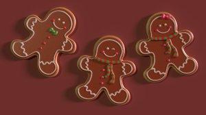 gingerbread cookies model