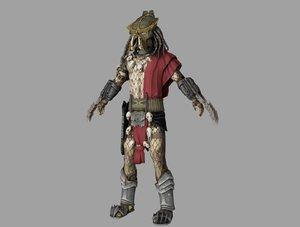 3D predator lord