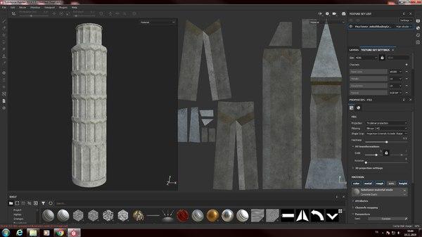 tower pisa half price 3D model