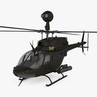 3D bell oh-58 oh