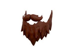 beard style 3D model