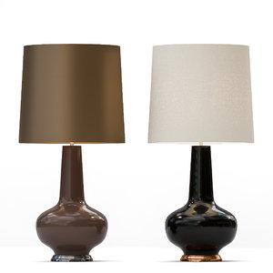 sybil lamp classically 3D model