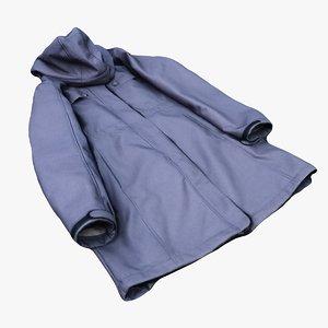 3D model clothes jacket