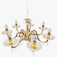 3D realistic chandelier model