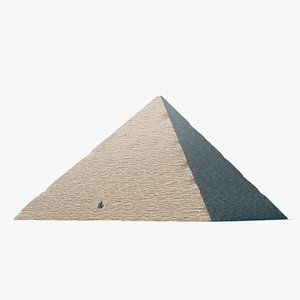 3D pyramid cheops model