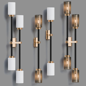 farol wall light 3D model