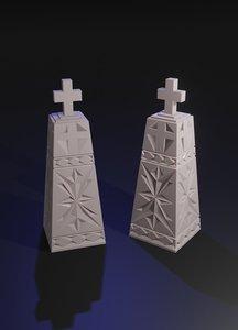 chess king printing 3D model
