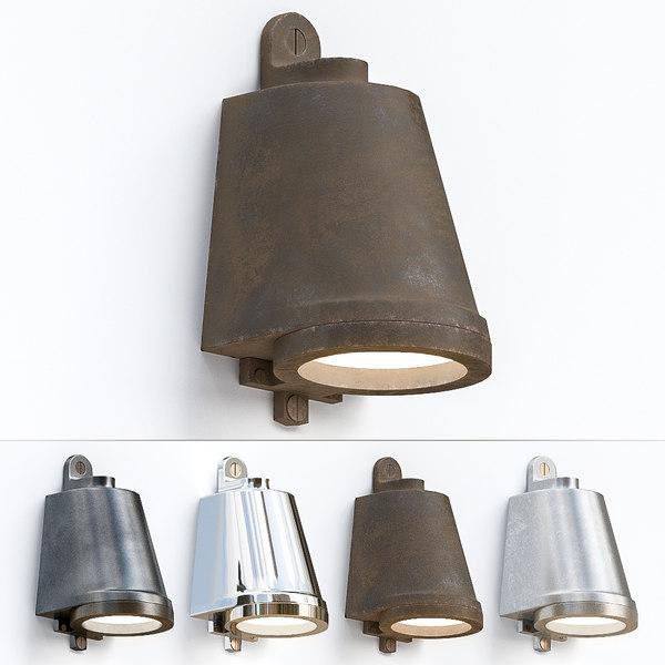 wall light spreaderlight 3D model
