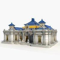 3D france building model