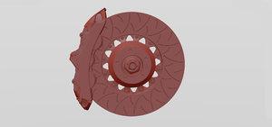 3D disc brake brembo