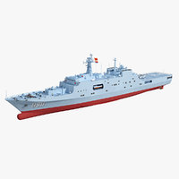 3D model chinese navy 998