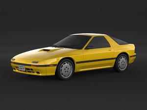 mazda rx-7 fc 3D model