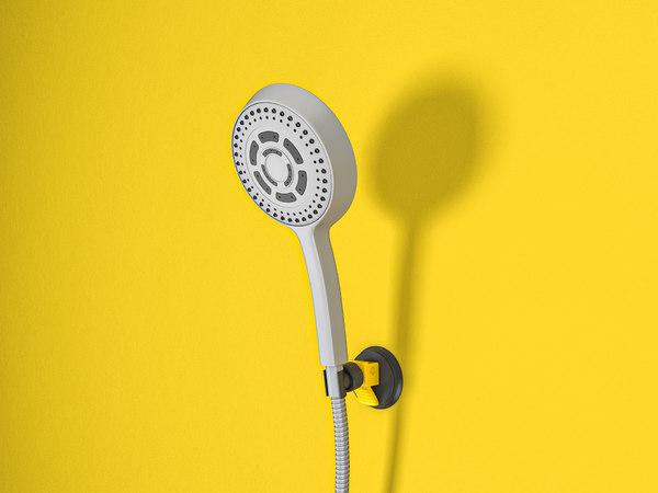 bathroom rain mixer shower model