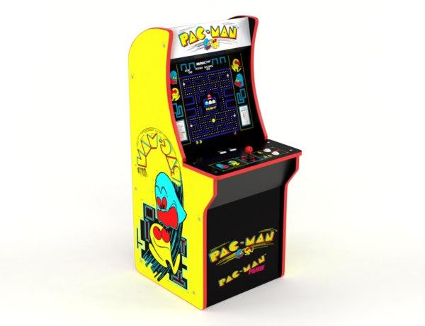 3D pacman arcade machine