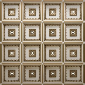 ceiling decorative tile 3D