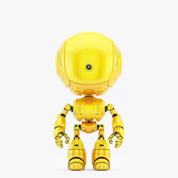 unique cyclops robot camera 3D