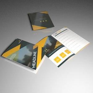 3D model booklet