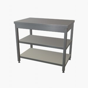 3D stainless steel work table