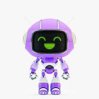 3D lovely robot - companion