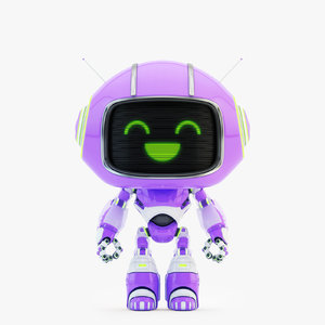 3D lovely robot - companion