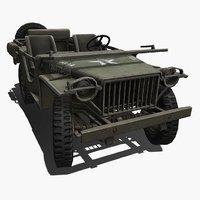 3D american bantam brc40 model