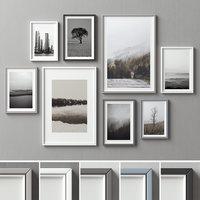 picture frames 1 3D model