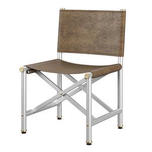 3D baxter chair model