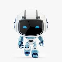 lovely robot - friendly model