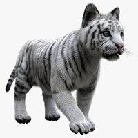 3D tiger fur baby