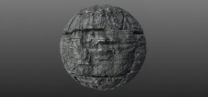 Blocky Cliff Rock 002 PBR Material Texture