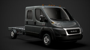ram promaster chassis truck 3D