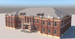 old city 3D model