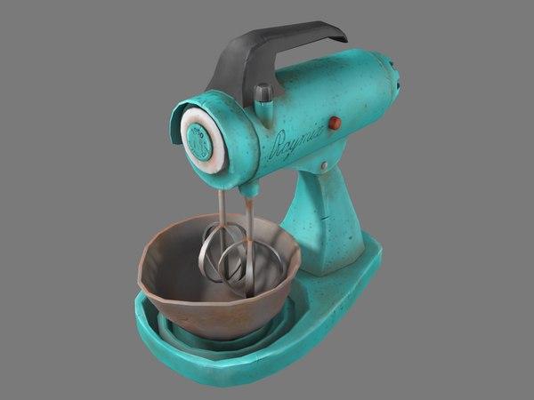 old mixer 3D model