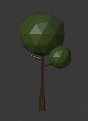 trees nature forest 3D model