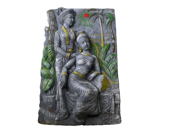 relief sculpture 3D model