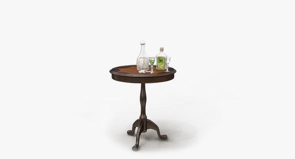 3D absinthe accessories